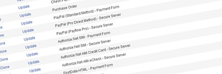 Tons of Payment Gateway Options