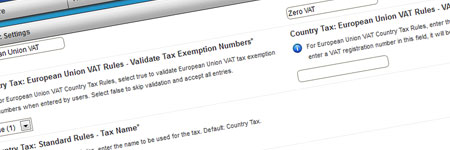 Enhanced Tax Integration